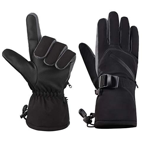 Likey Winterhandschuhe,Warm (-30℃),Wasserdicht,Atmungsaktiv,für Ski,Radfahren,Lauf und Arbeit, Herren und Damen (M)
