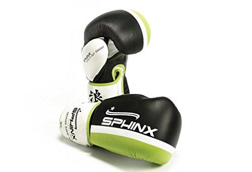 Sphinx Gear Ultimate Trainer Iv Guanto da Boxe, Nero, 10 oz