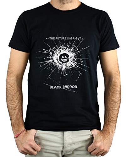 PLANETACAMISETA Camiseta Hombre - Unisex Black Mirror
