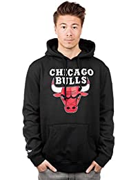 Mitchell & Ness Teamlogo Sweater Men - CHICAGO BULLS - Black