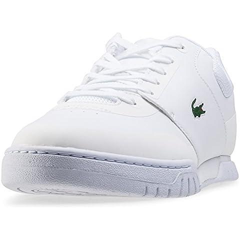 Lacoste - Zapatillas para hombre Blanco blanco