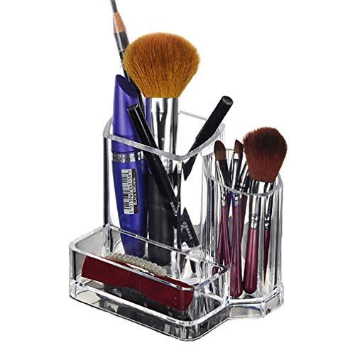 Organisateur de Maquillage Acrylique Boîte de Rangement de Récipient D'organisation de Support de Maquillage de Beauté Pour Les Produits de Lustre/Rouge À Lèvres Hauts