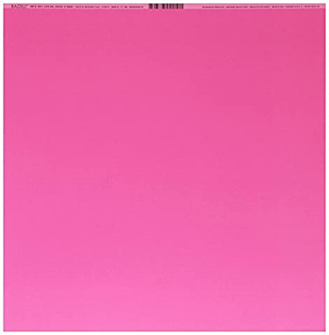 Bazzill Basics Paper 25 ScrapBooking Sheets Smoothies Watermelon Sensation, Pink