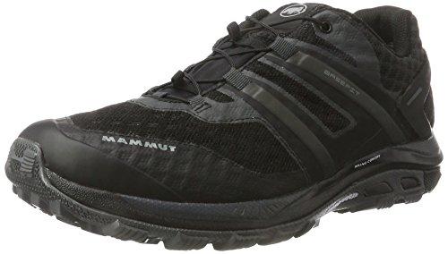 Mammut Herren Mountain Running Schuhe Grau (Black-Graphite)