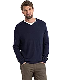 Wool Overs Pull homme col V en cachemire mérinos f21fc465e65d