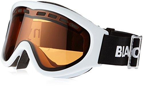 Black Canyon Skibrille mit Doppelscheiben, weiß, BC660DH;W