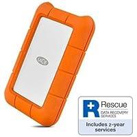 LaCie STFR5000800 6.35 cm (2.5 Zoll) 5000GB Externe Tragbare Festplatte im stossicheren Rugged-Gehäuse