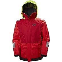 Helly Hansen Newport Coastal Jacket Chaqueta, Hombre, Rojo, XL