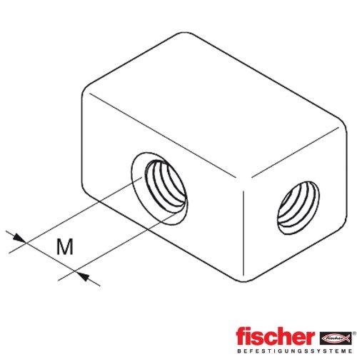 FISCHER 79717 - DE MONTAJE DEL CUBO M8 MW