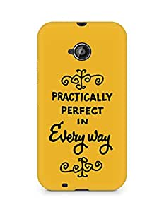 AMEZ practically perfect in every way Back Cover For Motorola Moto E2