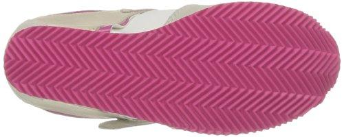 Calvin Klein Jeans Viridiana Suede Nylon Vacchetta Patent, Chaussures de ville femme Blanc (Wfu)
