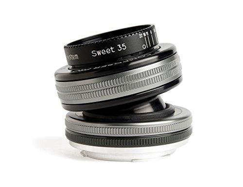 Preisvergleich Produktbild Lensbaby Composer Pro II inkl. Sweet 35 Nikon F , schwenkbares Tilt-Objektiv , ideal für Portrait und Landschaftsaufnahmen, außergewöhnliche Tiefe und kreative Unschärfe , Brennweite 35 mm, Blende f/2,5 , verstellbarer Schärfebereich, passend für Nikon Systemkameras und Spiegelreflexkameras