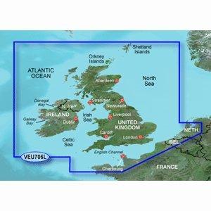 Garmin veu706l UK und Irland BLUECHART G2VISION Garmin veu706l UK und Irland BLUECHART G2VISION