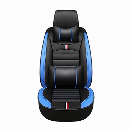 General Motors coprisedili, Protezione Completa e Traspiranti Quattro Stagioni, Tutti i Comfort automobilistico Parti Interne - for Auto 5 posti SHANCL (Color : Black Blue)