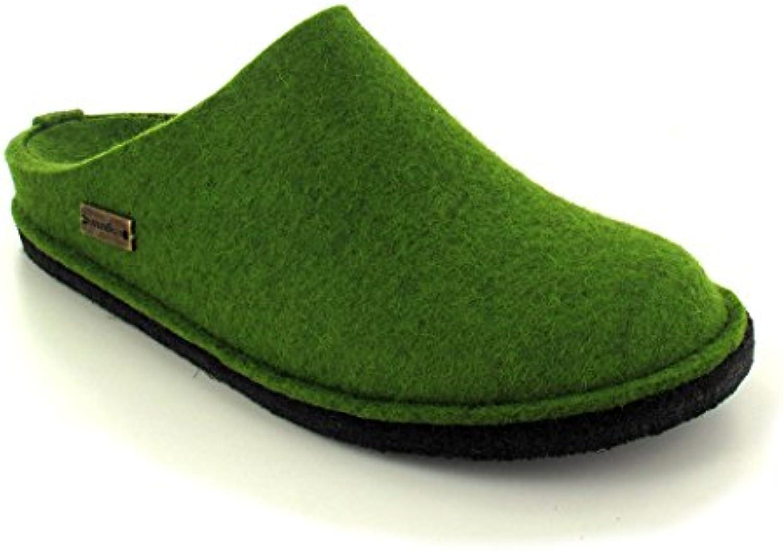 Haflinger Flair Soft  Grasgrün  Größe 37