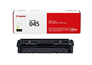 Canon Genuine Toner, Cartridge 045 Yellow (1239C001), 1 Pack, for Canon Color imageCLASS MF634Cdw, MF632Cdw, LBP612Cdw Laser Printers