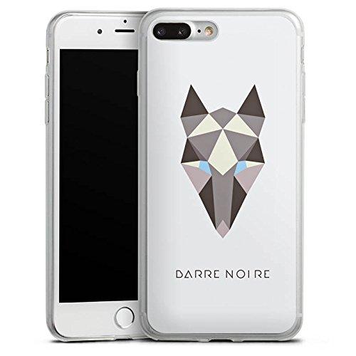 Apple iPhone X Slim Case Silikon Hülle Schutzhülle Fuchs Muster Fox Silikon Slim Case transparent