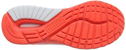 Puma - Faas 600 Support V2 Power Warm, Scarpe da corsa Uomo Arancione (Orange (Fiery Coral-Puma Silver))