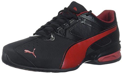 Preisvergleich Produktbild PUMA Men's Tazon 6 FM Sneaker,  Black-Red Dahlia