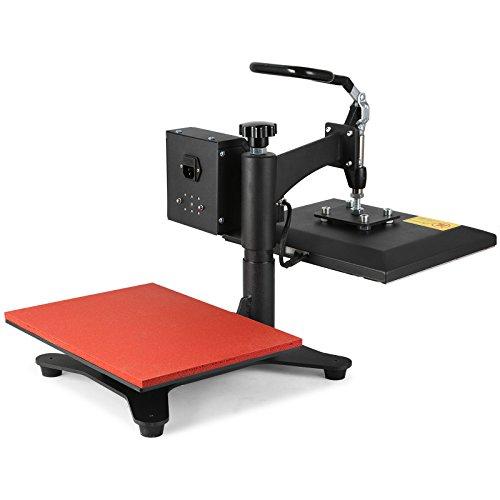 Lartuer Transferpresse Textilpresse T Shirtpresse Heat Press Machine 24X30cm mit Elektronische Zeitregelung und Temperaturüberwachung (24X30cm) - 8