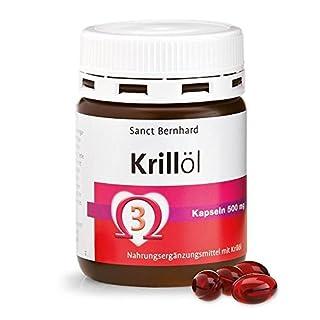 Sanct Bernhard Krillöl-Kapseln, original Neptune Krill Oil, geruchsarm, Inhalt 90 Kapseln