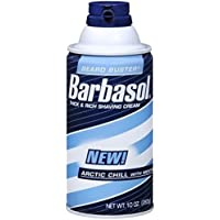 Barbasol Thick and Rich Shave Cream Arctic Chill with Menthol- 10 Oz (Pack of 3) by Barbasol preisvergleich bei billige-tabletten.eu