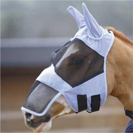 Knight Rider Unisex Fliegenmaske/Schleier für Das ganze Gesicht mit Nase, blau, M