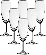OCEAN CLASSIC CHAMPAGNE FLUTE GLASS 185ML PACK OF 6
