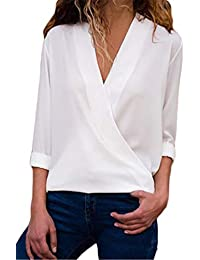 più amato 7d0c4 b5823 Amazon.it: camicia bianca donna - Bluse e camicie / T-shirt ...