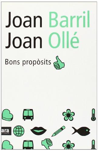 Descargar Libro Bons Propòsits de Joan Barril
