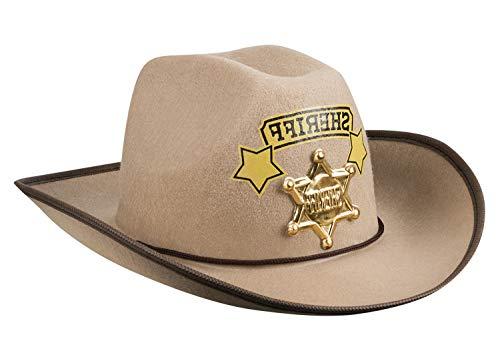 Boland 54365 Kinderhut Sheriff, Braun Preisvergleich