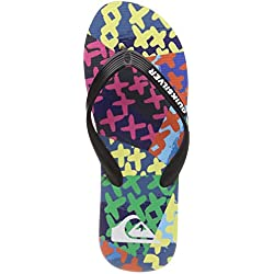 Quiksilver Molokai Variable Volley, Zapatos de Playa y Piscina para Hombre, Azul Blue/Green Xbbg, 41 EU