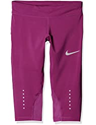 Nike G PWR Tght Epic Crop Mallas, Niñas, Morado (True Berry), M