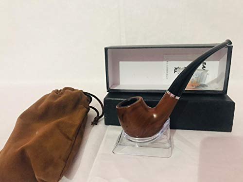 WBD Finest Smoking Pipe with Cleaning Kit and Stand (Sanda)