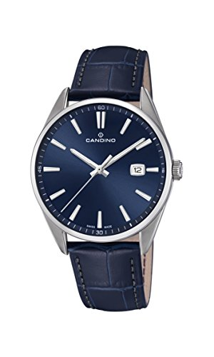 Candino Mens Analogue Classic Quartz Watch with Leather Strap C4622/3