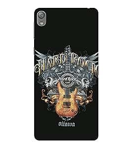 EPICCASE Hard Rock Café Mobile Back Case Cover For Sony E5 (Designer Case)