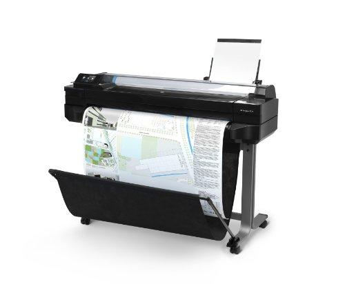 HP Designjet T520 ePrinter Series Großformatdrucker (61 cm (24 Zoll), 2400×1200 dpi, 1GB RAM, WiFi, USB 2.0) schwarz - 3