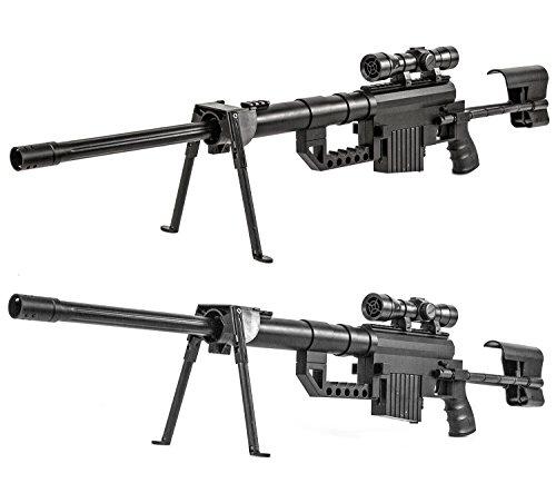 Soft-Air Gewehr Sniper Waffe Zweibein 99 cm
