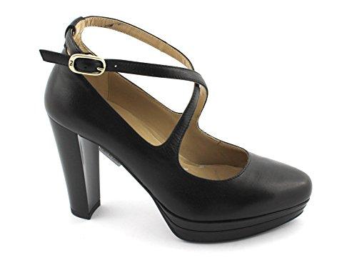Nero Giardini 19640 Noir Chaussures Femme Plateau Talon Noir Bracelet
