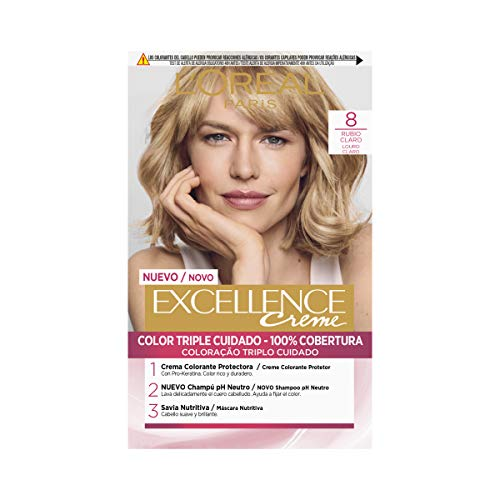 L'Oréal Paris Excellence Coloración Crème Triple