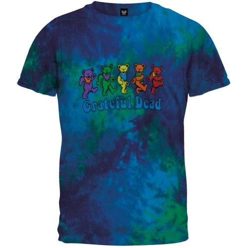 Greatful Dead-Dancing Bears Tie Dye Tee