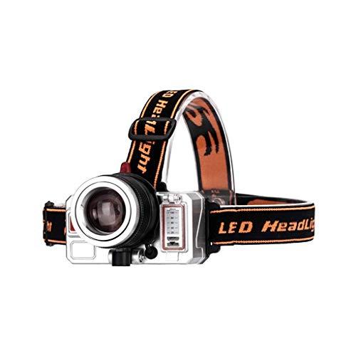 RMXMY Lampe de Mineur Rechargeable à l'extèrieur étanche LED Haute Puissance pour Le Camping, la pêche, la randonnée, Les phares Multifonctions