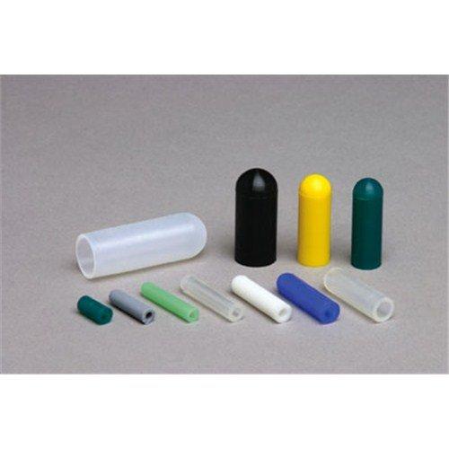 tapecase SC 0187-1000klar, Silikon Kappen, 0.187in ID X 1.000in L-1000(Einheiten/Paket) 0.187