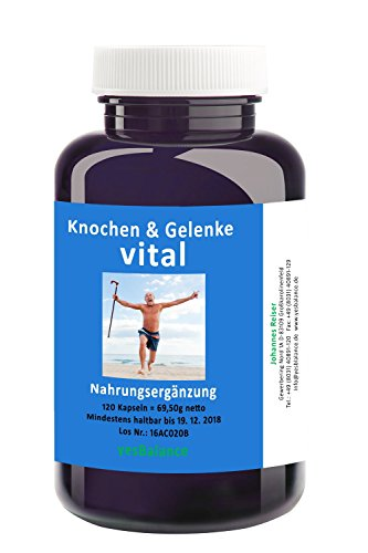 Knochen und Gelenk vital - yesBalance - für Frauen und Männer - 90 Kapseln