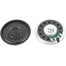 2 Pcs 1/2W 0,5W 16Ohm 36mm Circular Interior Imán Electrónica Altavoz Trompeta