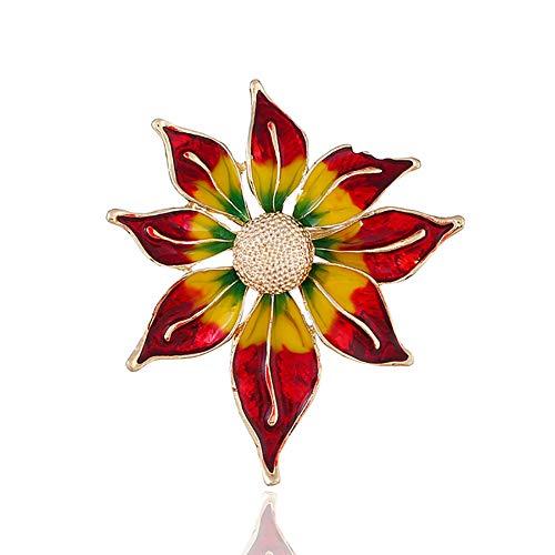 kanggest Farbige Blumen Broschen Mode Einfache Männer Und Frauen Broschen Broschen Pins Mäntel...