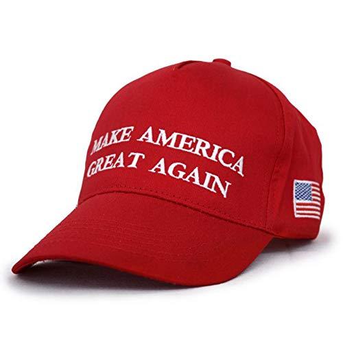 SKAMAO Baseball Kappe Hut-Justierbare Netzkappe Politischer Patriot-Hut Für ()
