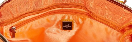 Sansibar Candy B-532 CD, Borsa a spalla donna, 34x33x12 cm (L x A x P) Arancione (Orange (orange))
