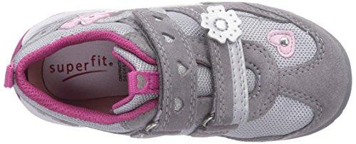 Superfit - SPORT3, Sneakers da Bambine e ragazze grigio(Grau (GRIFFIN KOMBI 44))