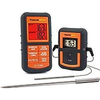 ThermoPro TP08 Termómetro de Cocina para Carne, Horno, Alimento, Barbacoa / Sonda dual para Carne y Horno